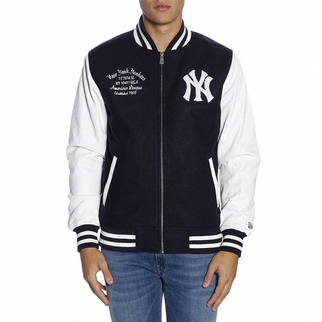 New Era Blouson New Era NEW YORK YANKEES UNIVERSITY CLUB VARSITY