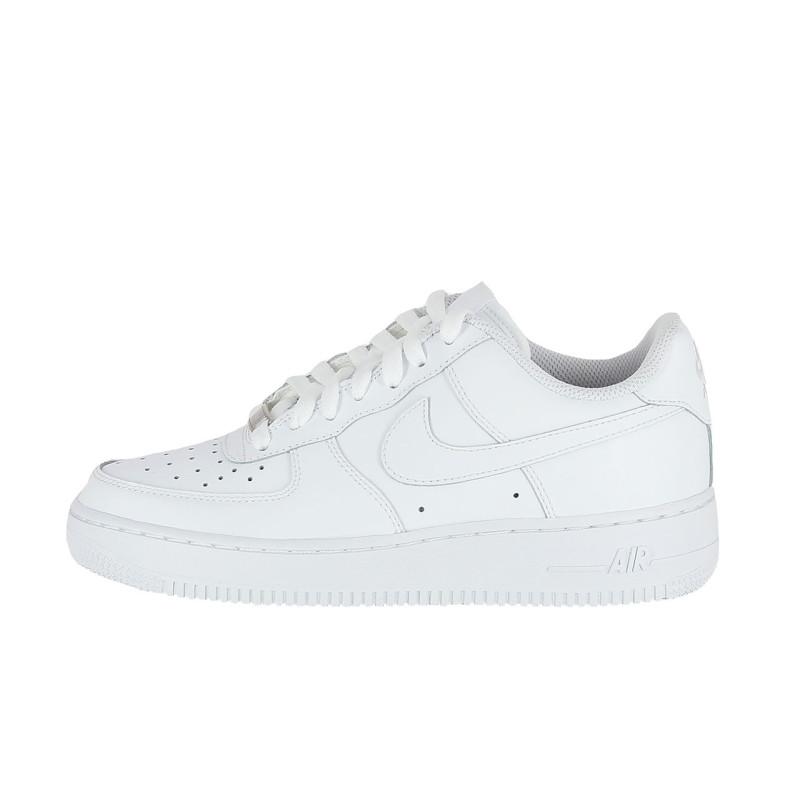 Basket Nike Air Force 1 Junior Blanc 314192 117 Chaussures