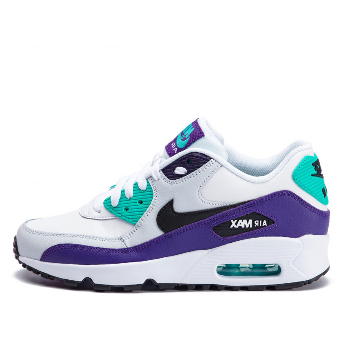 Basket Nike AIR MAX 90 LEATHER Junior DownTownStock.Com