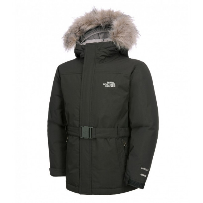 Parka The North Face Greenland pour fille (Noir) - Ref. T0A0C0JK3