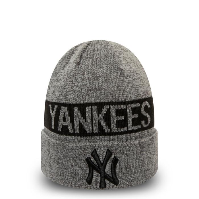 Bonnet New Era NEW YORK YANKEES MARL CUFF KNIT
