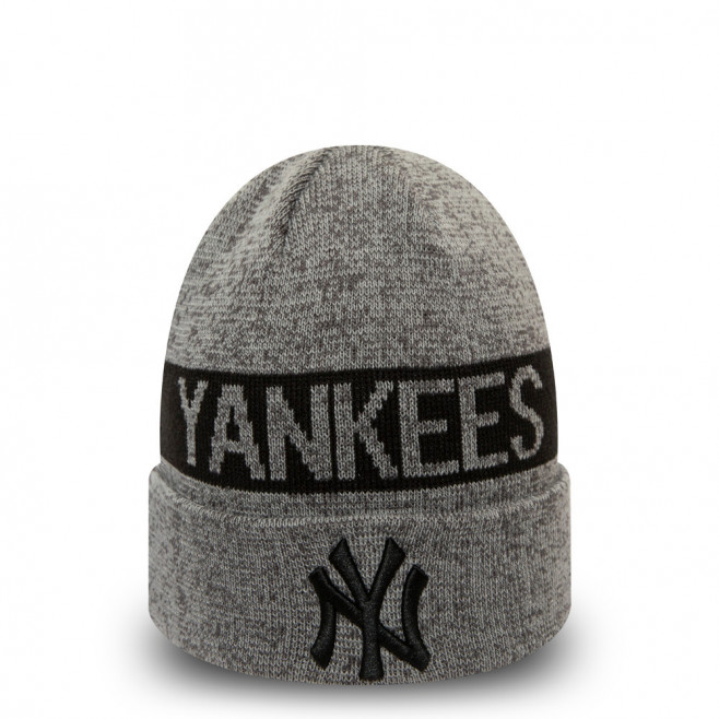 New Era Bonnet New Era NEW YORK YANKEES MARL CUFF KNIT