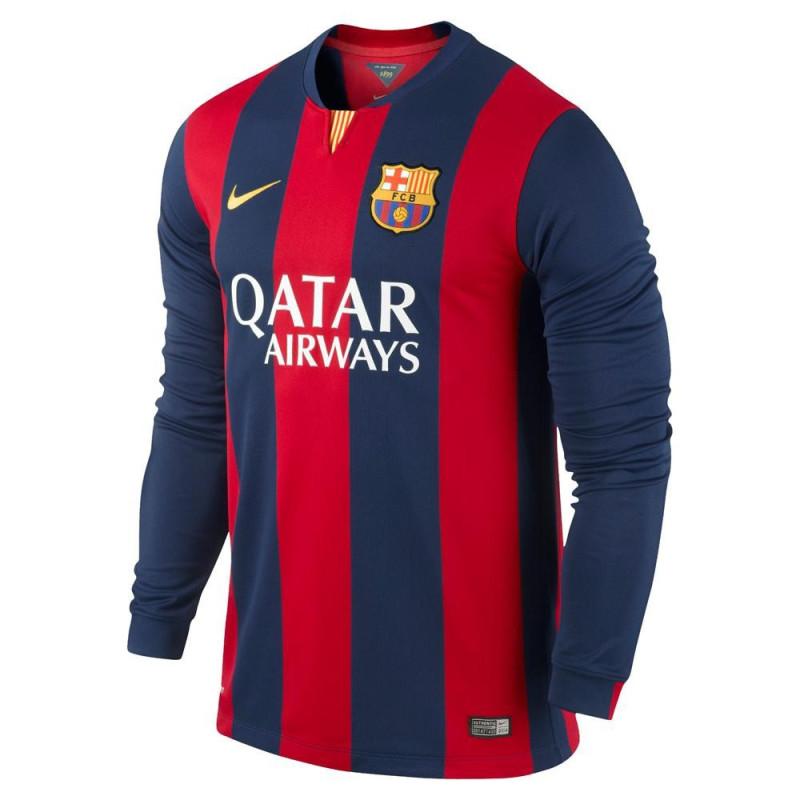 Maillot de football Nike FC Barcelona Home Stadium 2014/2015 - Ref. 618737-422