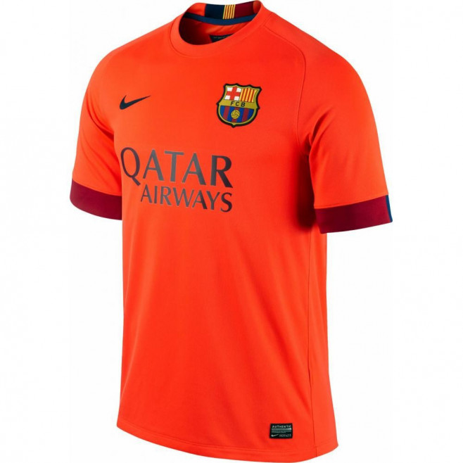 Maillot de football Nike FC Barcelona Stadium Away 2014/2015 - Ref. 610595-672
