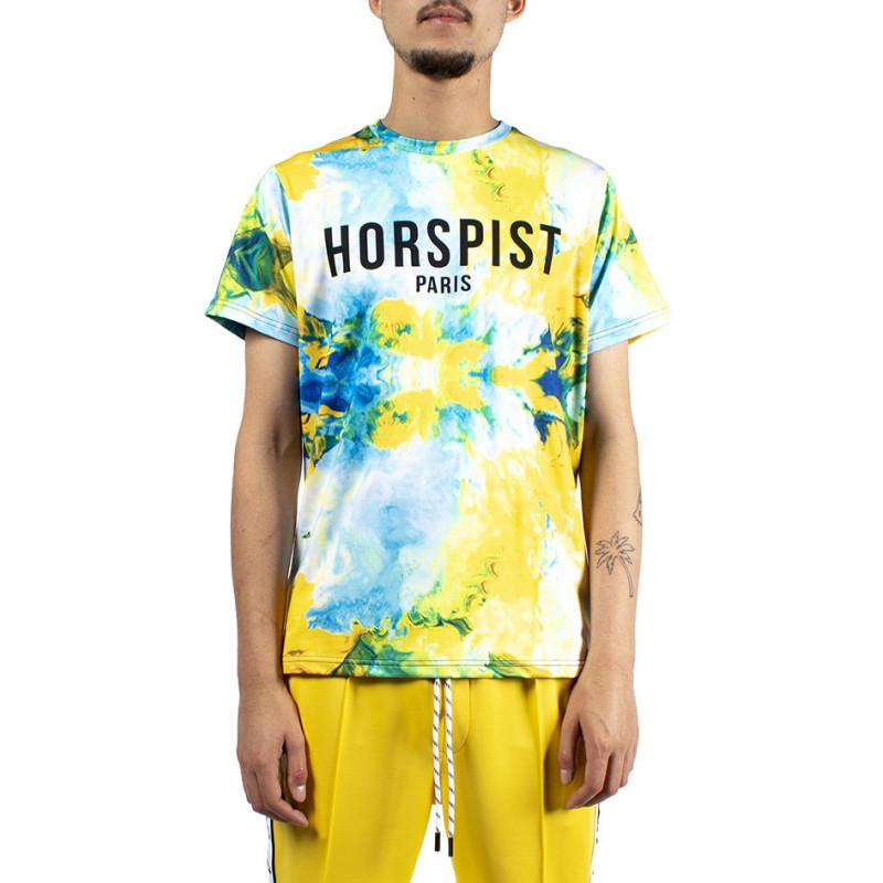 Horspist Tee-shirt Horspist NEWTON AQUA