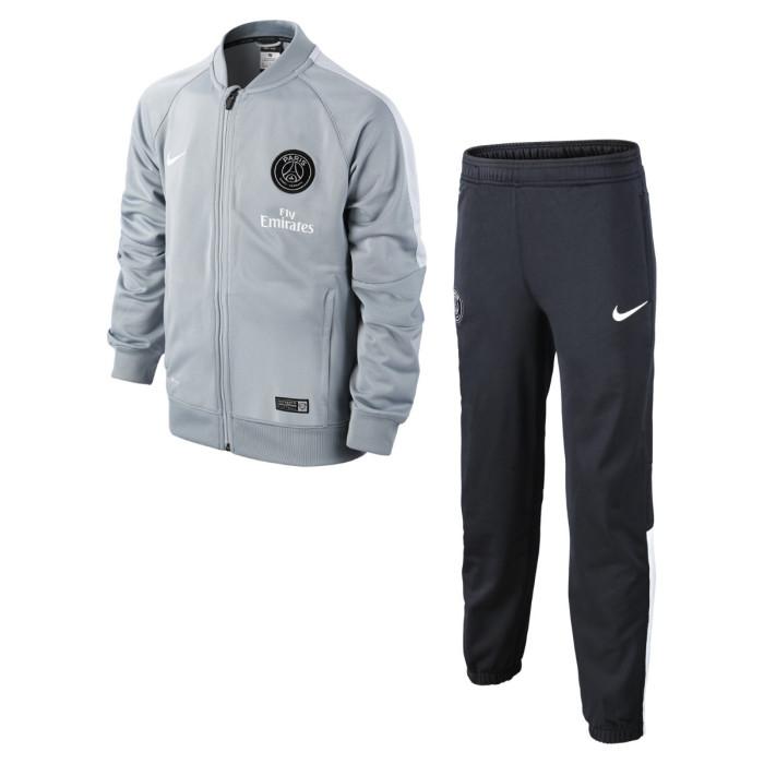 Ensemble de survêtement Nike Junior PSG Squad Sideline Knit - Ref. 627135-018