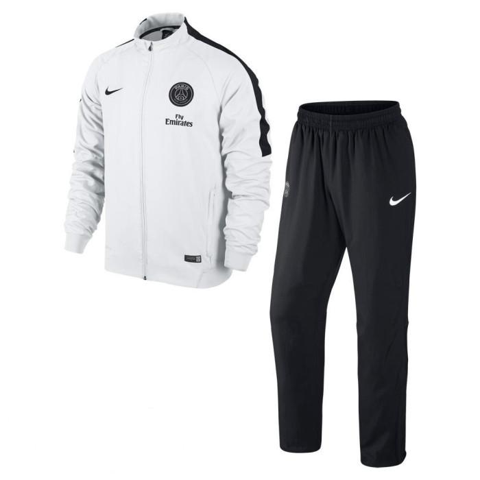 Ensemble de survêtement Nike Enfant Cadet PSG Squad Sideline Knit - Ref. 627135-101