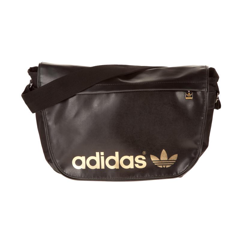 Messenger Bag Adidas (Noir/Or)
